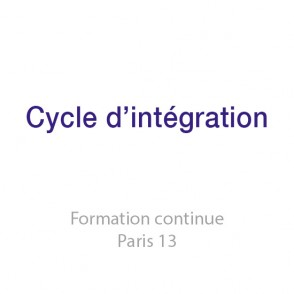 Cycle d'intégration en présentiel