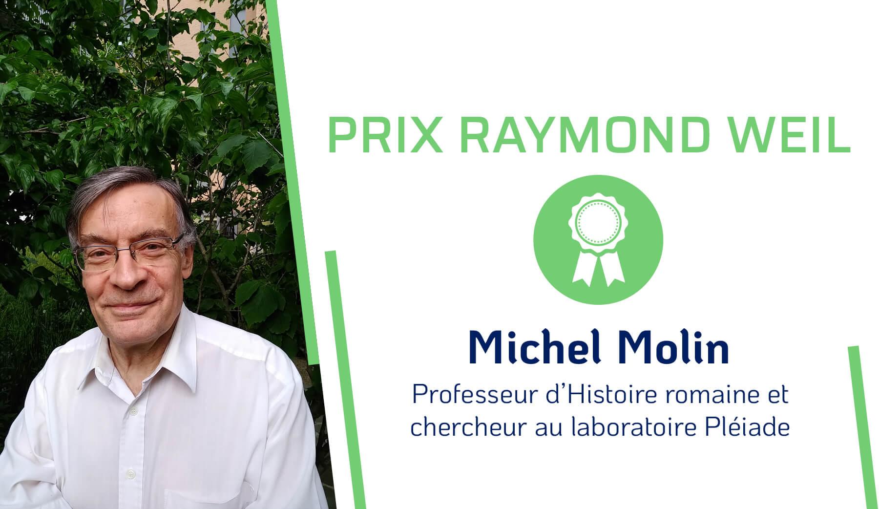 Prix Raymond Weil - Michel Molin