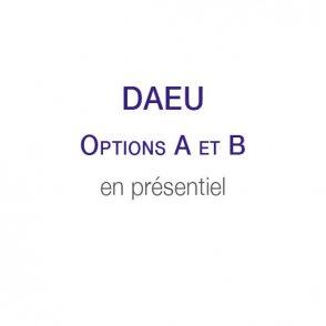 DAEU A et B en présentiel