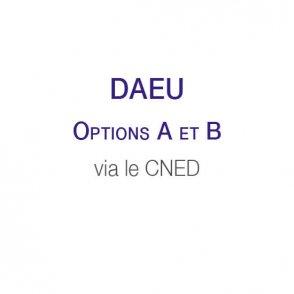 DAEU A et B via le CNED