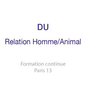 DU Relations Homme / Animal <br />Médiation, Thérapie et bien-être animal